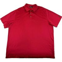 Nike Golf Tiger Woods Collection Men's Short Sleeve Sunday Red Polo Shirt SZ 2XL