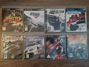 8x NEED FOR SPEED PS3 GAMES BUNDLE! MOST WANTED RIVALS RUN SHIFT PUSUIT UNDERCOV
