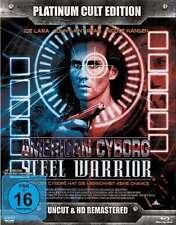 American CYBORG - Steel Warrior LIMITED PLATINUM CULTO edición BLU-RAY + DVD