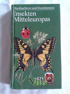 Beobachten und bestimmen - Insekten Mitteleuropas, DDR-Fachbuch 1986