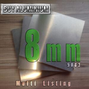 8mm Aluminium plate - 5083