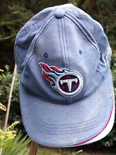 REEBOK NFL AUTHENTIC CASQUETTE BLEU + MOTIF REGLABLE  ! NATIONAL FOOTBALL LEAGUE