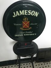 Rare JAMESON Irish Whiskey Double Sided Lighted Sign  Bar Man Cave