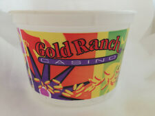 New listing Gold Ranch Casino slot machine player's coin token tub cup Bucket souvenir item