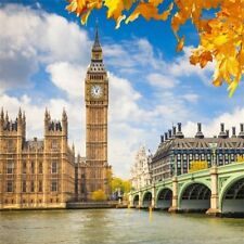 Big Ben London England City Photography Background 8x8ft Studio Backdrop Prop
