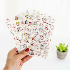 6 sheet budding pop stationery calendar DIARY planner DIY Decorative stickers
