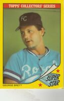 FREE SHIPPING-VG TO GOOD1986 Topps Woolworth's Super StaR #4 George Brett ROYALS