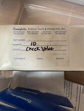 NEW Swagelok SS-4C-VCR-1/3 Check Valve 1/4 in VCR Face Seal Fitting, 1/3 psi