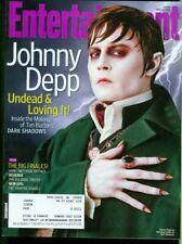 2012 Entertainment Weekly: Johnny Depp as Barnabas Collins in Dark Shadows