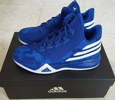 $65 NIB Adidas Light Em Up 2 Boys SIZE 5 Basketball Shoes BLUE #B42911  #1605517