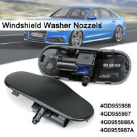 Windshield Windscreen Washer Heated Nozzels Jet For Audi A6 RS6 C7 Allroad