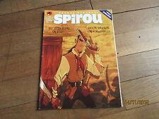 JOURNAL BD  SPIROU 3988 septembre 2014 + supplement abonne poster zombillenium 3