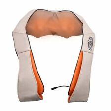 U Shape Electrical Back Neck Shoulder Body Massager Infrared Heated Kneading Car