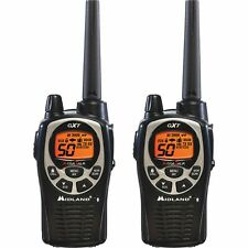 Midland GXT1000VP4 36-Mile GMRS 2-Way Radio X-TRA 2 GMRS Walkie Talkie Black