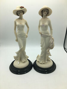 Set Of Two Leonardo Collection Figurines By Annie Rowe (SD140G) GA