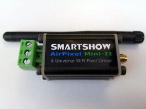 "SmartShow ""AirPixel Mini II"" Wifi Pixel Driver : ArtNet sACN WS2812 : 4 Universe"