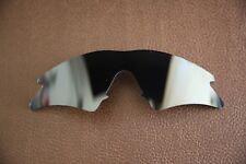 PolarLens POLARIZED Black Replacement Sweep Lenses for-Oakley M-Frame sunglasses