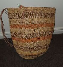 Fine Australian Aboriginal Bag - Dilly Bag (Vintage 90's) - Pristine (32mx24cm