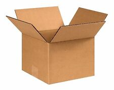 25 Pack 8x8x6 Corrugated Carton Cardboard Packaging Shipping Mailing Box Boxes