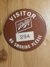 Schlitz Visitor Pin Make Mine Schlitz Pin Lot Vintage Nm Rare