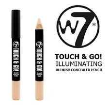 w7 Fair Light Medium TOUCH & GO Corrector Blemishes Cover Up Pencil Cruelty Free