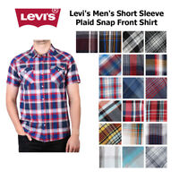 Levi's Men's Short Sleeve Snap Front Shirt