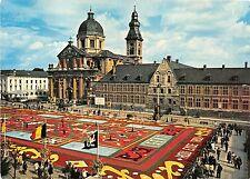 BG5255 eglise st pierre et abbaye tapis de fleurs  gent gand  belgium