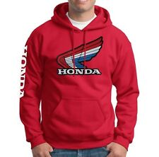 RWB Retro Honda Wing Pull-Over Sweatshirt Hoody HRC Motorcycle mt cr 250 125