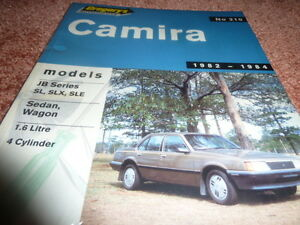 HOLDEN CAMIRA JB GREGORY'S OWNER'S SERVICE AND REPAIR  MANUEL No 210