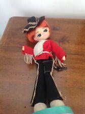 Vintage Kitsch 1960' Big Eyed Doll - LSM Foreign - Bradley Style