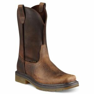 New Men's Ariat 10008638 Rambler Work  Pull On leather Boot