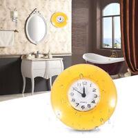 Mini Orologio da parete con ventosa impermeabile Per bagno cucina soggiorno