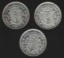 More details for silver plated elizabeth ii half crowns | british coins | pennies2pounds