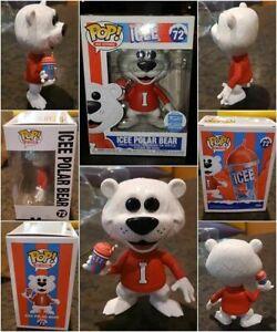 Funko! Pop Ad Icons: ICEE Polar Bear + Soft Protector SHOP Exclusive ETA 12/10