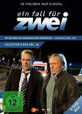 EIN FALL FÜR ZWEI - EIN FALL FÜR ZWEI COLLECTOR'S BOX 18 (F.255-269) 5 DVD NEU