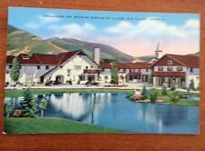challenger Inn, Showing Portion of Village, Sun Valley, Idaho Postcard used