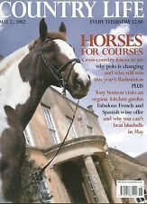 Country Life May 2002 TYNTESFIELD AUDLEY END HUNTING MUSEUM RACEHORSES POLO