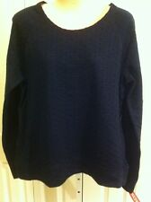 WOMANS MERONA DARK BLUE SHIRT SIZE LARGE NEW WITH TAGS !!