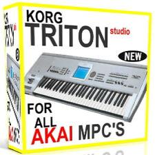 KORG TRITON STUDIO SAMPLES AKAI MPC 2500 5000 4000 2000 1000 4000 3000 500 15GB