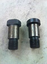 Jeep Willys M38, M38A1 Special Shouldered Bolt Set, Flywheel Mounting, G740,758