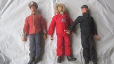 Vintage Palitoy  Action Man ,set of three figures