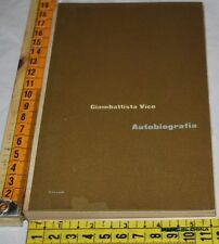 VICO Giambattista - AUTOBIOGRAFIA - Einaudi - libri usati