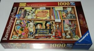 New Sealed Ravensburger 1000 Piece Puzzle The Artist's Cabinet 2020 Box Damage