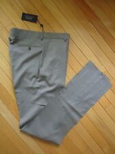+++NWT $295 POLO RALPH LAUREN MADE IN ITALY 100% WOOL PANTS SZ 34+++