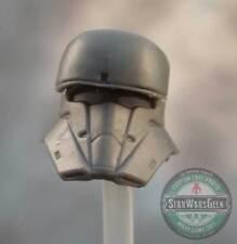 """MH027 Custom Cast Male head for use with 3.75"""" GI Joe Star Wars Marvel figures"""