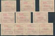 [316809] Ireland good lot of Postage Label stamps very fine MNH