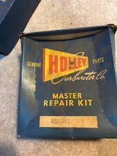 52 53 54 55 FORD TRUCK nos 8 CYL HOLLEY master rebuild kit 1901FFG 85R-361 NOS