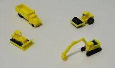 Outland Models Railway Miniature Heavy Construction Vehicle Set N Gauge 1:160