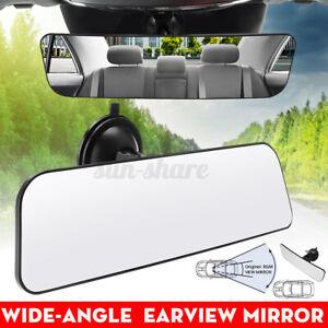 ELUTO Car Truck Mirror Interior Curved Rear View Mirror Suction Rearview Mirror