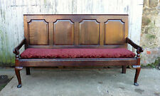 A 17th Century Very Long Oak Settle